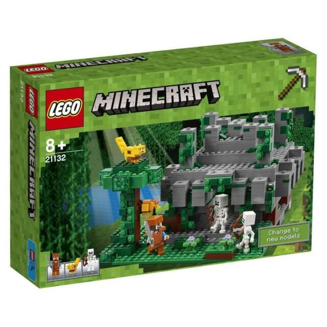 Lego Minecraft™ 21132 the Dschungeltempel New Ovp Misb