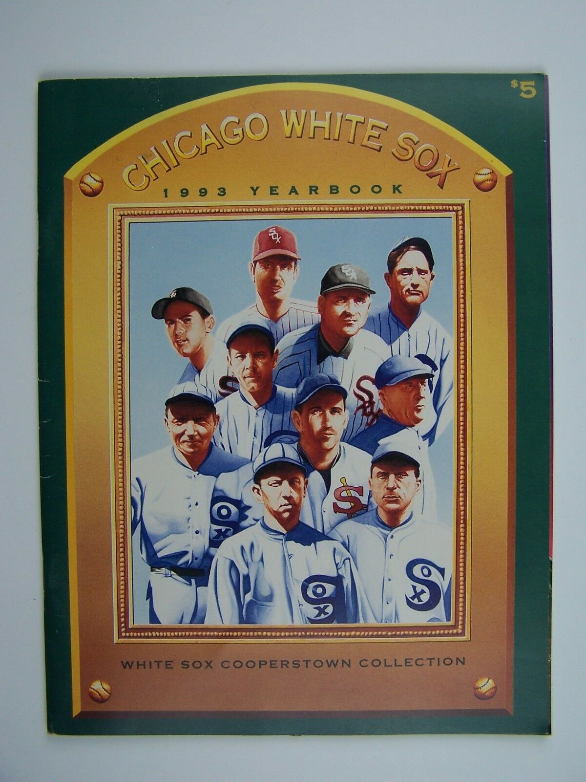 Chicago White Sox Baseball 1993 Yearbook
