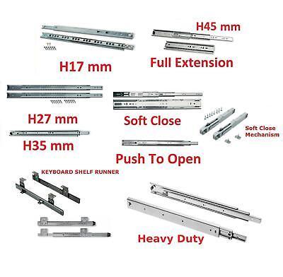 Boîte de 10 tiroirs Runner H45 push to open 600mm