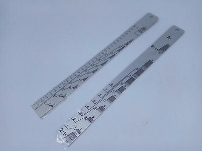 Aluminum Paint Scale Coating Mixing Ruler Stick Car Body Paint Ratio Measuring