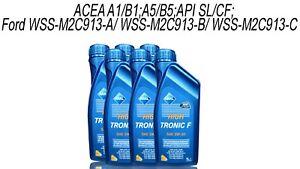 Aral-High-Tronic-F-5W30-6x1-Litre-D-039-Huile-de-Moteur-F-Ford