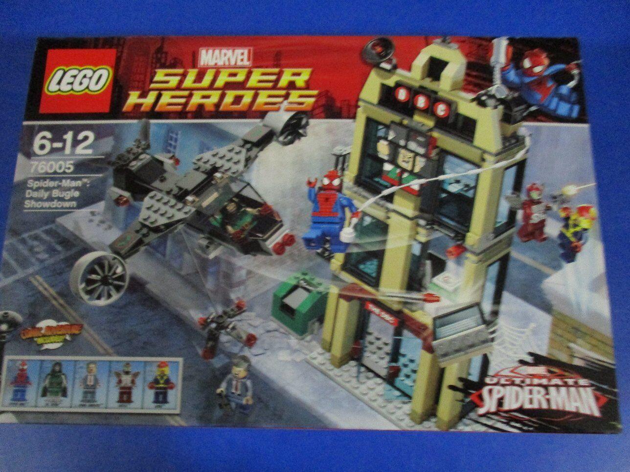 LEGO SUPER HEROES 76005 Spider-Man inserto il Daily Bugle NUOVO OVP