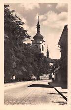 STARA BOLESLAV CZECHOSLOVAKIA CHRAM sv.VACLAVA PHOTO POSTCARD 1953