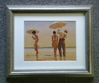 Mad Dogs.... by Jack Vettriano Deluxe Framed & Mounted Art Print