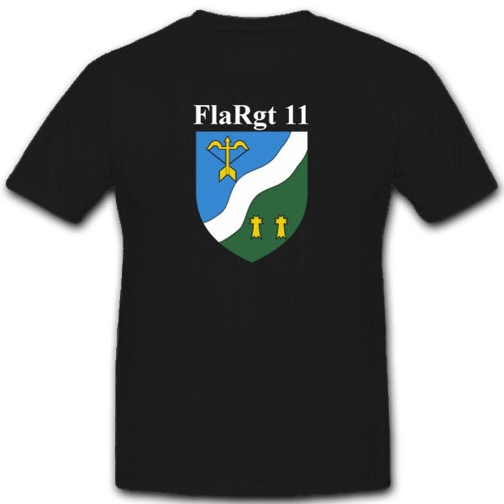 Emblem Wappen Abzeichen Militär Bundeswehr Einheit FlaRgt 11 - T Shirt