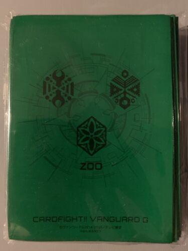 CARDFIGHT VANGUARD G ZOO NEO NECTAR MEGACOLONY GREAT NATURE GREEN SLEEVES 70 PCS