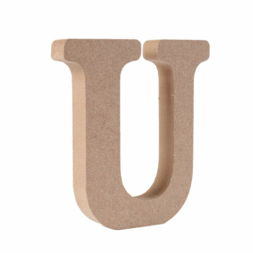 1PC 26 Alphabet Large A-Z Wooden Letters Word Hanging Modern Home Decor Tools