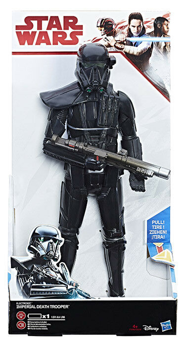 STAR WARS Rogue One Electronic Duel Imperial Death Trooper Action Figure HASBRO