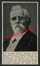 Akademische Malerei Prof. Mathias Schmid 80. Geburtstag München Tirol Kunst 1915