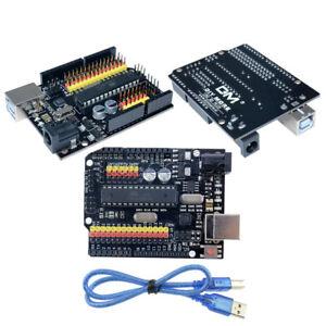 UNO-R3-PLUS-Sensor-I-O-Shield-Arduino-Compatible-Atmega328P-16U2-Expansion-Board