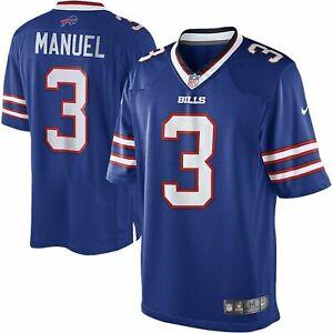 Nike-Homme-Buffalo-Bills-Ej-Manuel-Limite-Football-Jersey-Epargner-60-XL-E-J