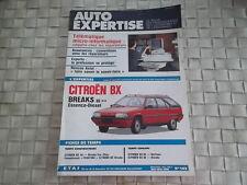 REVUE AUTO EXPERTISE CARROSSERIE CITROEN BX DEPUIS 1986 ESSENCE ET DIESEL