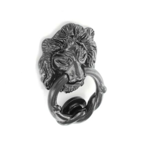 Porte en Fer Antique Tête de Lion knocker heavy duty