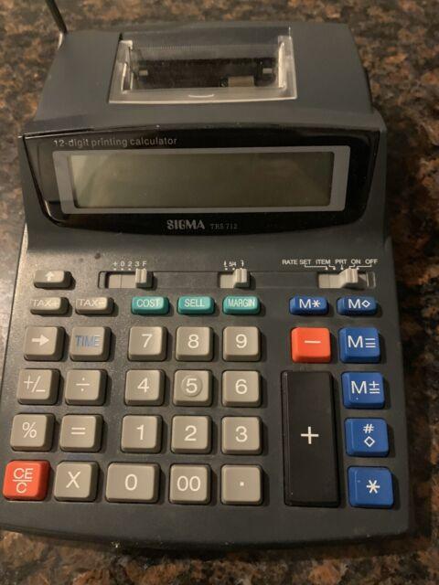 Sigma Taschenrechner