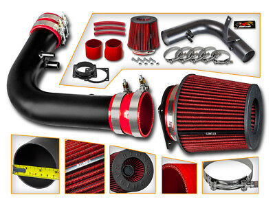 97-04 FORD F150//F250//EXPEDITION//LINCOLN NAVIGATOR 4.6//5.4 5.4L AIR INTAKE RED