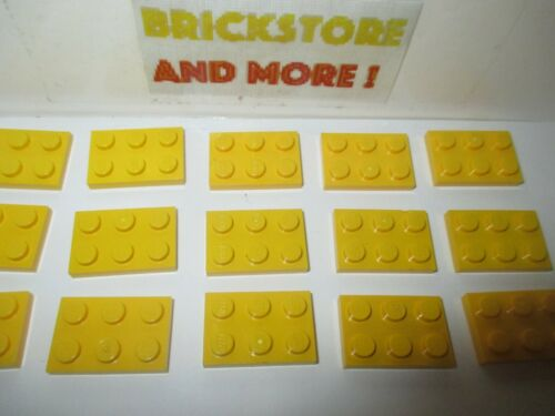 Choose Quantity x2 x4 x10 x20 x40 Plaque Plate 2x3 3021 Yellow//Jaune Lego