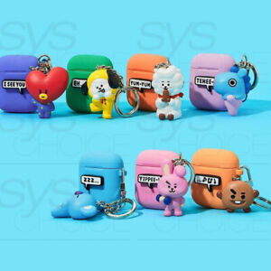 BTS-BT21-Official-Authentic-Goods-Keyring-Airpods-Case-7Characters-By-Royche