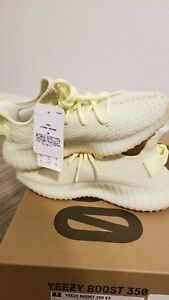 525247b4b Size 9 MEN Adidas Yeezy Boost 350 V2 Yellow Butter F36980 KANYE WEST ...