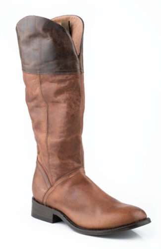 LADIES STETSON ABBIE BROWN TWO-TONES FASHION BOOTS 12-021-7611-0371