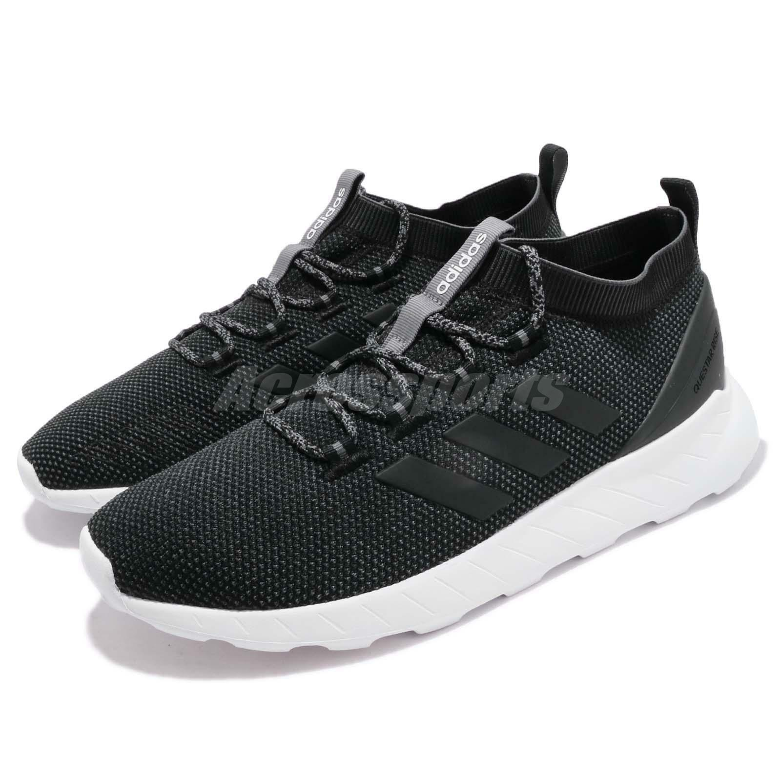 adidas Questar Rise Black Grey White Men BB7183 Running Casual Shoes Sneakers BB7183 Men ac6d5a