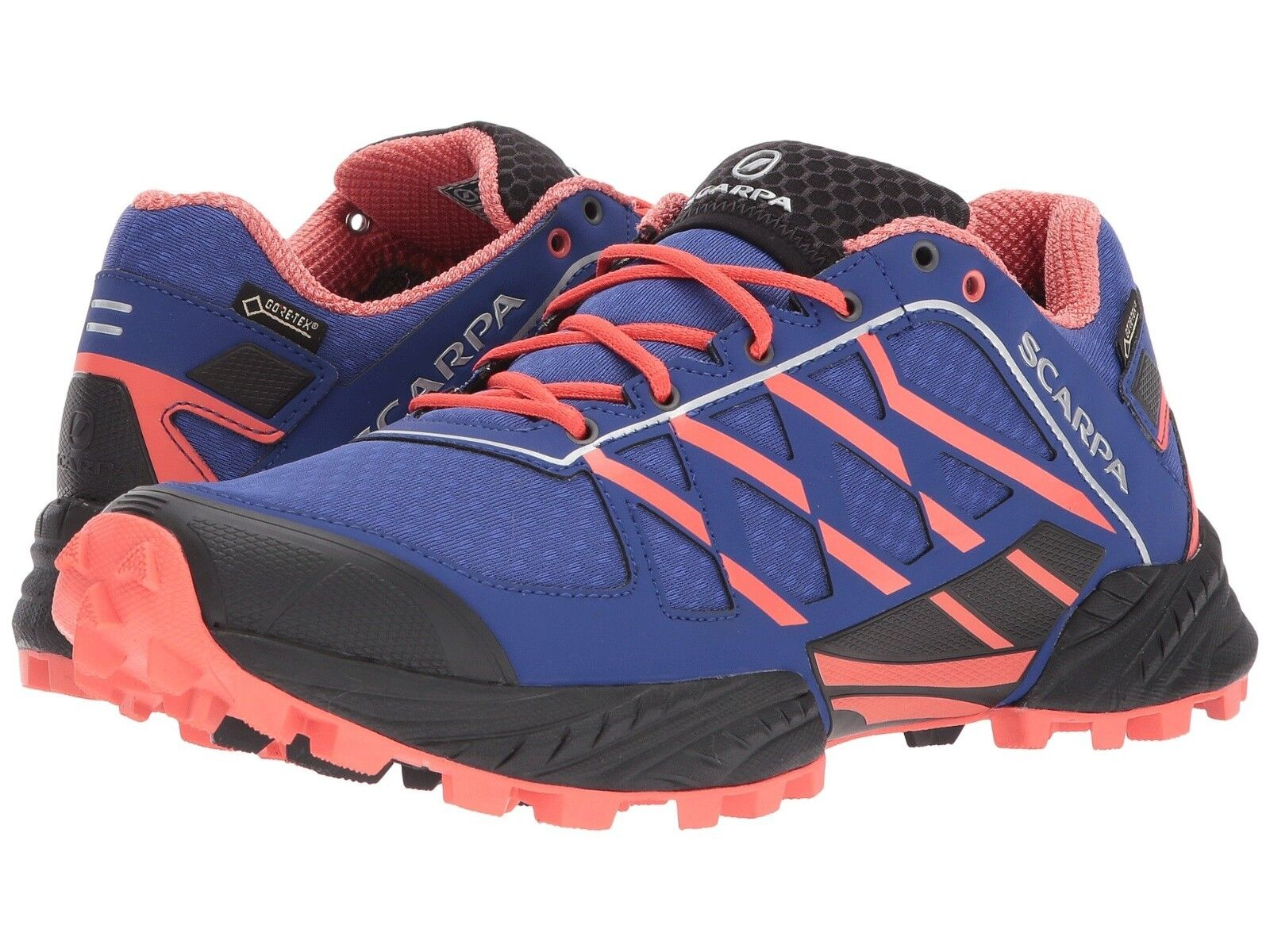 50% OFF  NEW WMN'S SCARPA NEUTRON  GTX TRAIL RUNNING SHOES , SZ 7 1 2, CLEMATIS