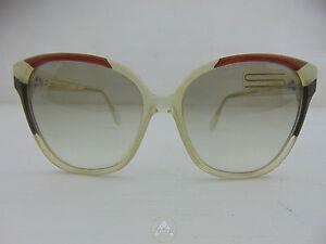 Vintage-80-SILHOUETTE-Occhiali-Sole-Sunglasses-Cat-Eye-Austria-NOS-VTG