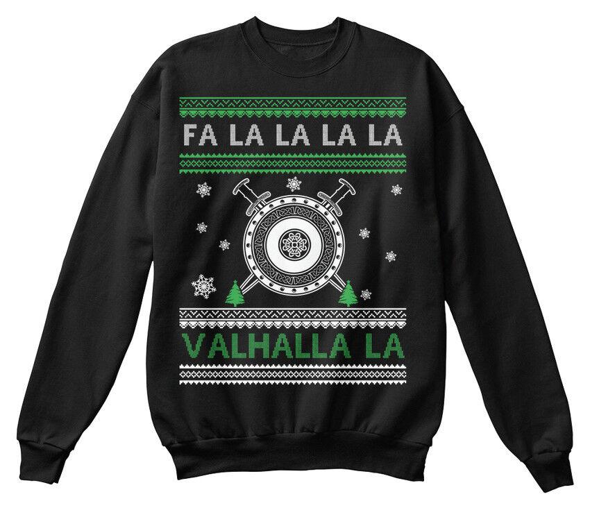 Valhalla Ugly Christmas Swea - Fa La N a Bequemer Bequemer Bequemer Pullover | Billig  | Sehr gelobt und vom Publikum der Verbraucher geschätzt  | Hohe Qualität Und Geringen Overhead  36d28e