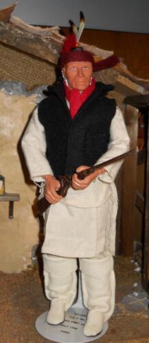 1//6 Custom Native American Indian APACHE warrior uniform set White dog soldier