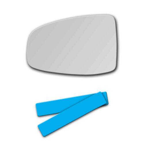 S-D584L Replacement Mirror Glass for 2015-2019 Honda Fit Driver Side Left LH L