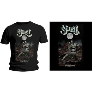 GHOST-Dance-Macabre-Mens-T-Shirt-Unisex-Tee-Official-Licensed-Band-Merch