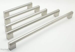 Image Is Loading Boss Bar Brushed Stainless Steel Kitchen Cupboard Drawer