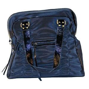 ae59d3109 Bcbg Maxazria Purse Tote Large Nylon Diaper Bag Black Bag New Opb276 ...