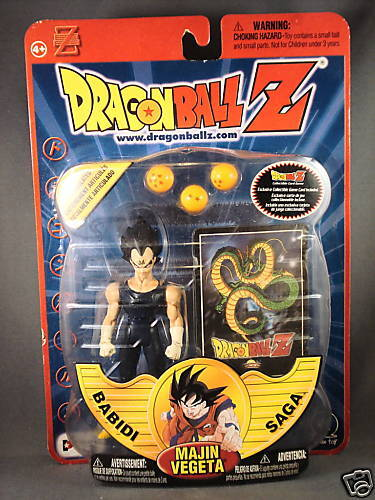 2001 Dragonball Z Majin Vegeta Babidi Saga