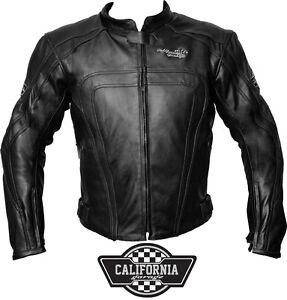 Giacca-Moto-Uomo-In-Pelle-California-Garage-Raptor-Nero