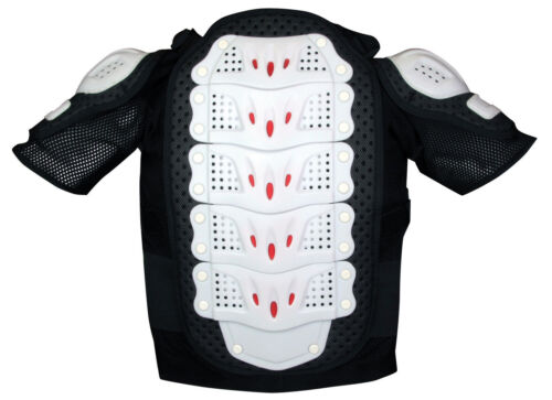 NEW CHILDS BODY ARMOUR JACKET BMX MTB DOWNHILL SKATE SCOOTER CYCLE MEDIUM//LARGE