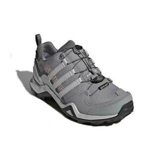 adidas Outdoor Women Terrex Swift R2 GTX Grey Two/Chalk Coral 10.5 B CM7506