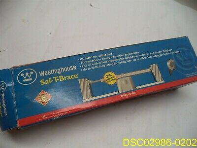 Westinghouse Lighting 0140000 Saf-T-Brace for Ceiling Fans