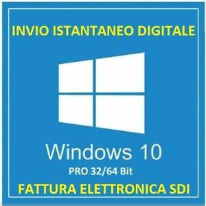 LICENZA-WINDOWS-10-PRO-32-64-BIT-KEY-WIN-10-CON-FATTURA-ITALIANA-SDI