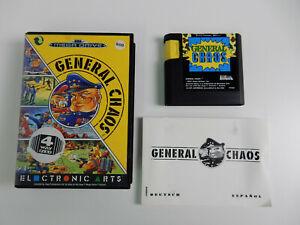 General Chaos für Sega Mega Drive - PAL - CIB - komplett !