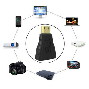 Mini-HDMI-Maschio-Tipo-C-donna-di-tipo-Adattatore-Connettore-per-1080-p-3D