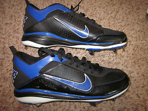 Details about Nike Air Show Elite Men's Size 13 Med Black Baseball Shoe Cleats Metal Pre Owned