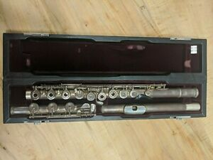 Professional-YAMAHA-674-ARGENTO-FLAUTO-CE-925-HEAD-JOINT-piede-B-OFFSET-G