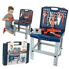Kids Tool Set Toddler Workbench W Realistic Tools & Electric Drill For