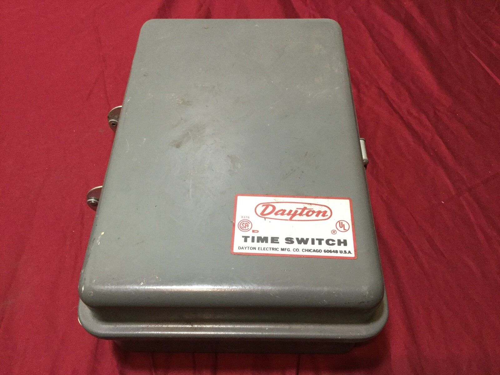 Dayton Sevenday Time Switch Timer