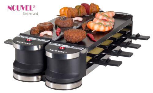 Raclettegerät 8 Personen Nouvel Swiss