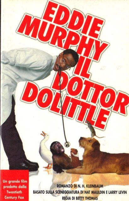 EDDIE MURPHY - IL DOTTOR DOLITTLE di Kleinbaum, sceneggiatura di Mauldin e Levin