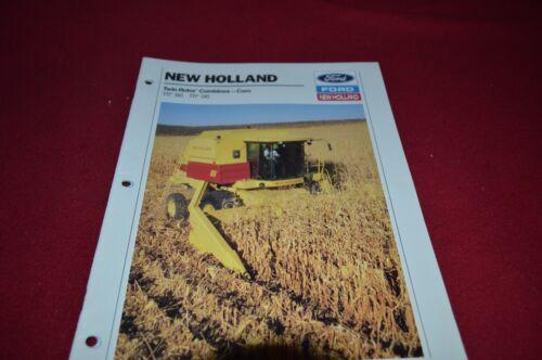 New Holland TR86 TR96 Twin Rotor Corn Combine Dealer/'s Brochure DCPA2