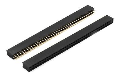 Arduino Raspberry Pi.. 20x Barrettes de connexion 40 Pin Femelle Pas 2.54 mm