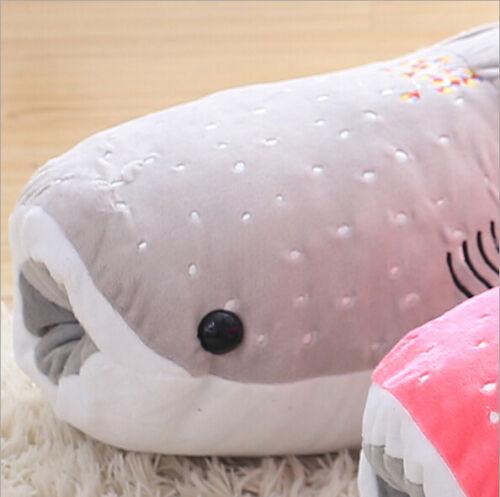 Whale shark toy plush soft hair doll pillow animal ocean child gift whale shark