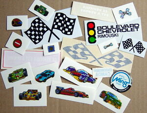 ONE-LOT-OF-20-STICKERS-VEHICLES